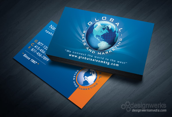 global-sales-and-marketing-business-card