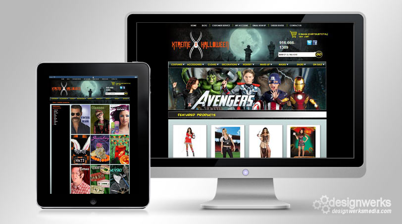 xtreme-halloween-web-design